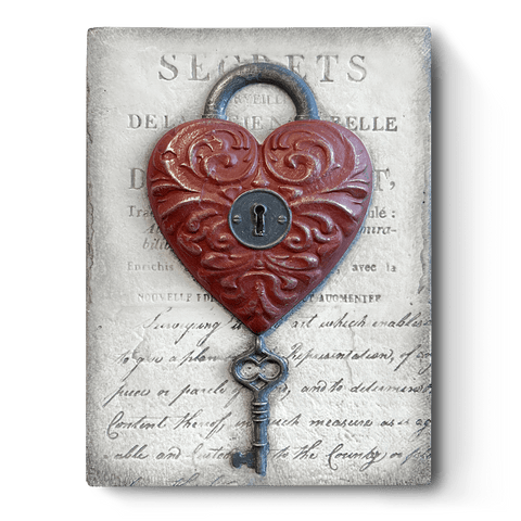 Tile No:  T532 Love Lock Sid Dickens Block