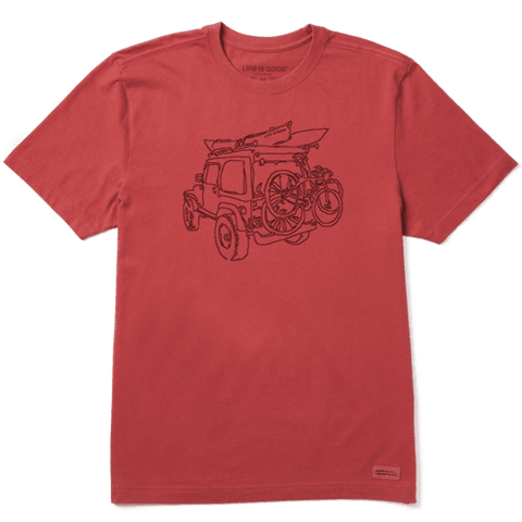 MEN'S OFF-ROAD FUN CRUSHER TEE BY LIFE IS GOOD