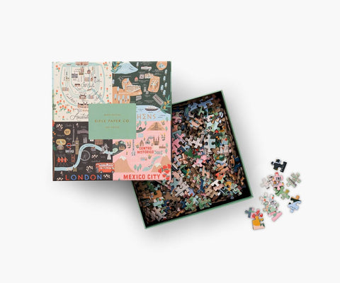 Rifle Paper Company Maps Puzzle