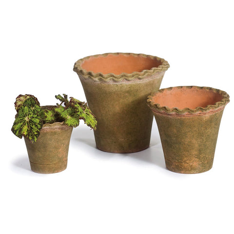 PIE CRUST NURSERY PLANTERS – Short