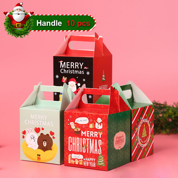Christmas Gift Boxes (10 Pcs)