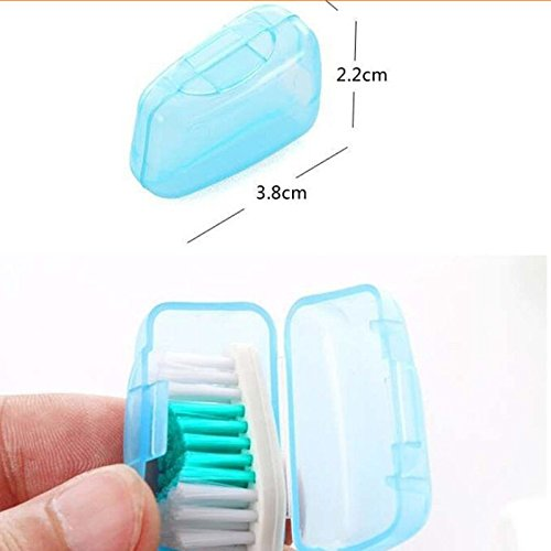 Portable Toothbrush Head Case(5 Pcs)