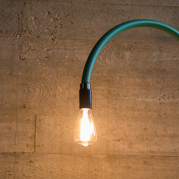 Bultin Minimalistic Table Lamp - Colourful Eye-Catcher with Concrete & Steel.