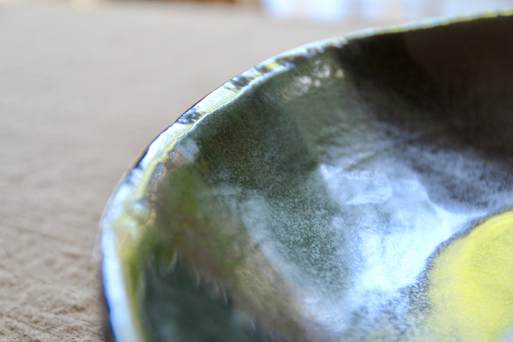 Atelier De Knock - Black Handmade Ceramic Bowl.