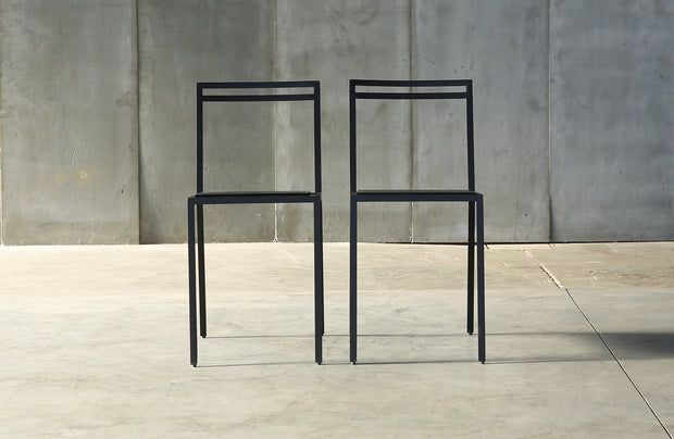 Heerenhuis - Amazing Minimalistic Rubber & Metal Chair.