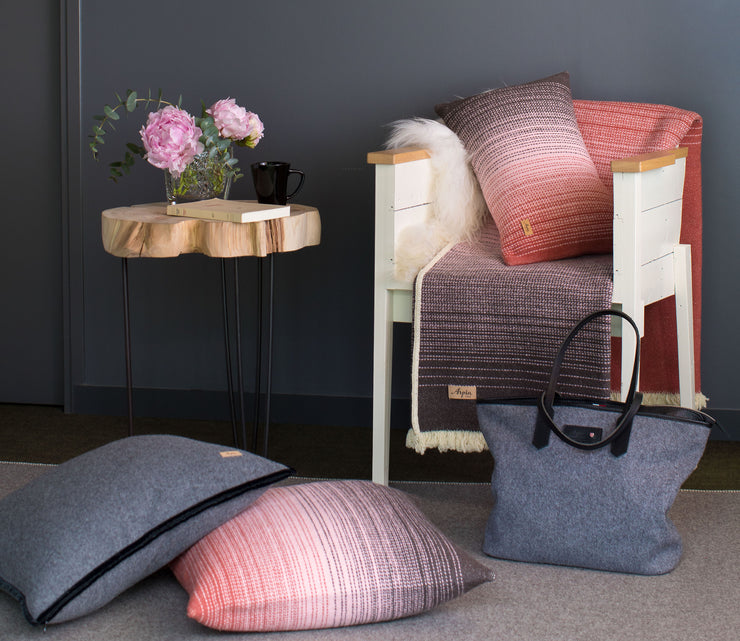 "Arpin Cushions ""Tissu Des Alpes"" Dégradé - Accessory with Comfort & Style."