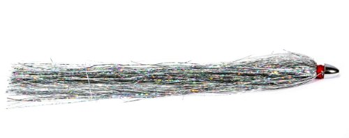 Boone Duster Lure (Pack of 2), Silver/Mylar, 6 3/4-Inch