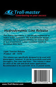 TrollMaster Hydrodynamic Fishing Line Release - Light Tension