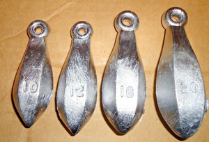 Bank Sinkers-10-20 oz. This is Where I Buy My Lead Weight Bank Sinkers