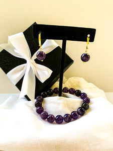 Amethyst Mothers Day Set