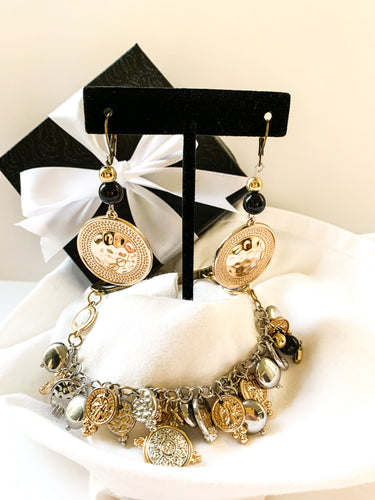 Gold and Silver Platted Mothers Day Set