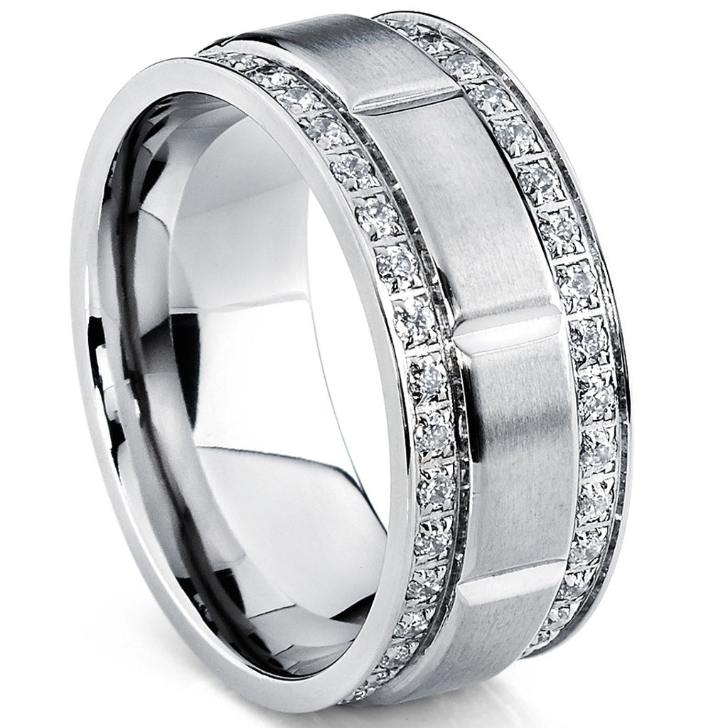 products wedding twist rings white halo fashion rhodium special round ring cz