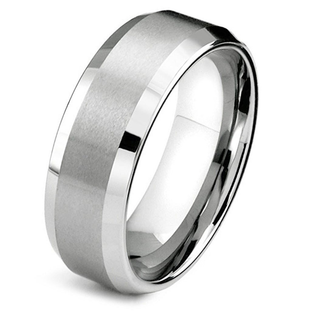 wedding hers matching palladium and bands tungsten ring titanium rings classico set his