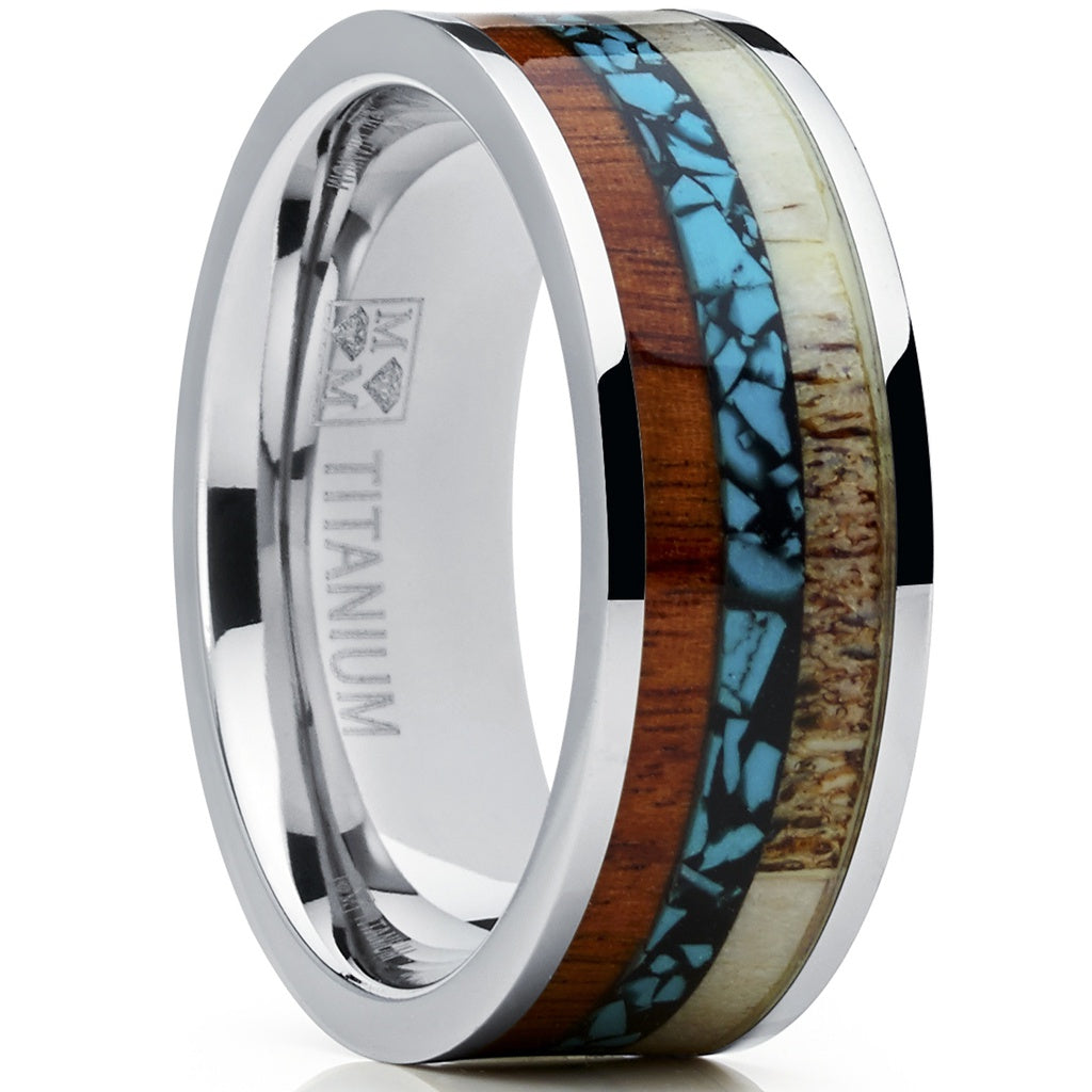 mens band gold wedding rings white bands
