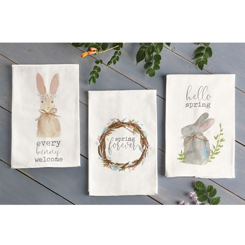 Spring Easter Cotton Towels