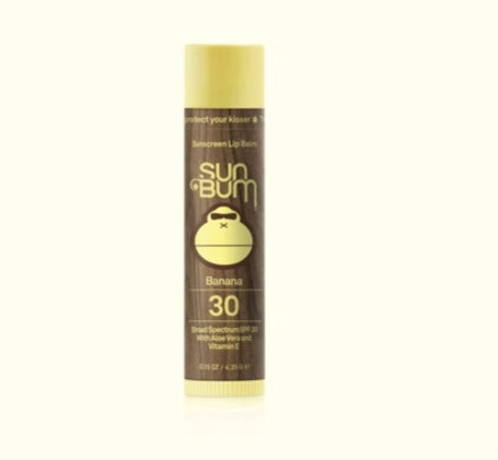Sun Bum Banana Original SPF 30 Sunscreen Lip Balm
