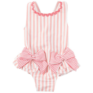 Baby Pink Bow Swimsuit