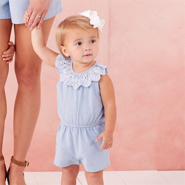 Baby Girl Mini Juniper Romper
