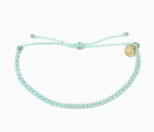Pura Vida Solid Mini Braided Bracelet
