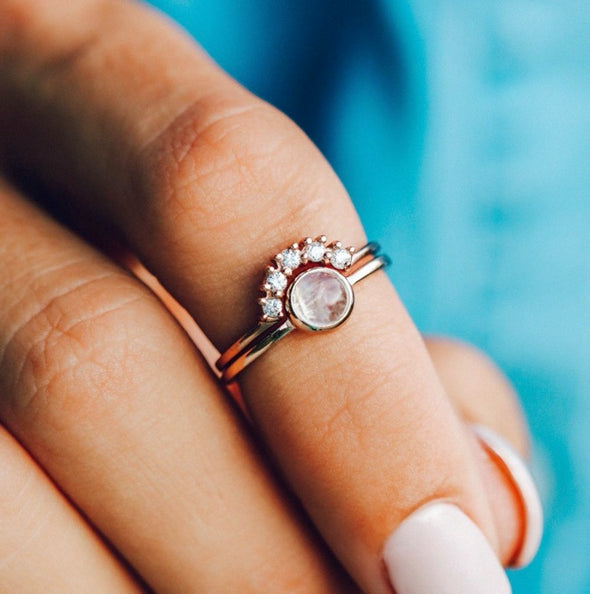 Pura Vida Rose Gold Nesting Ring
