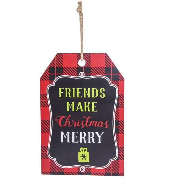 Hanging Tag Christmas Tree Ornaments