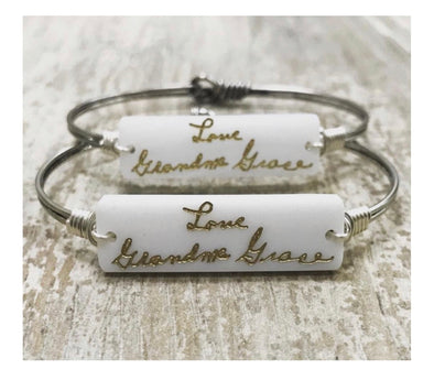 Custom Hand Written Jewelry