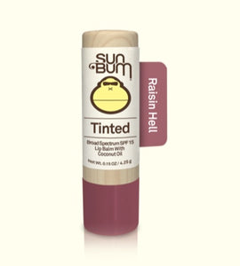 Sun Bum Raisin Hell SPF 15 Tinted Lip Balm