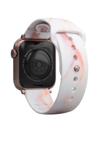 Groove Life Aspire Carrera Rose Gold Marble Apple Watch Band