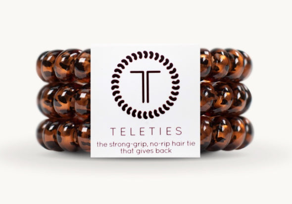 Tortoise Large Teleties 3pk