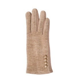 Chenille Gloves in Two Colors