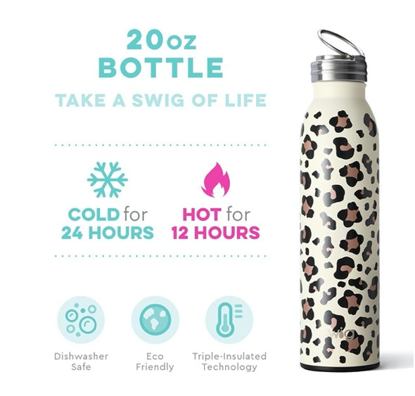 Swig Luxy Leopard 20oz Bottle