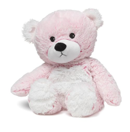 "Pink 13"" Marshmallow Bear Warmie"