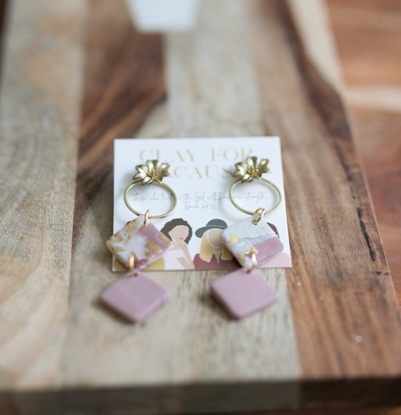 Clara Clay For A Cause Earrings