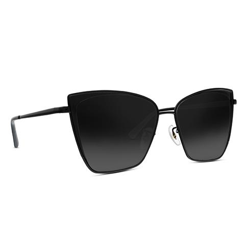 Becky Dark Smoke Diff Eyewear Sunglasses