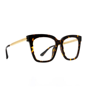 Bella Tortoise Diff Blue Light Technology Glasses