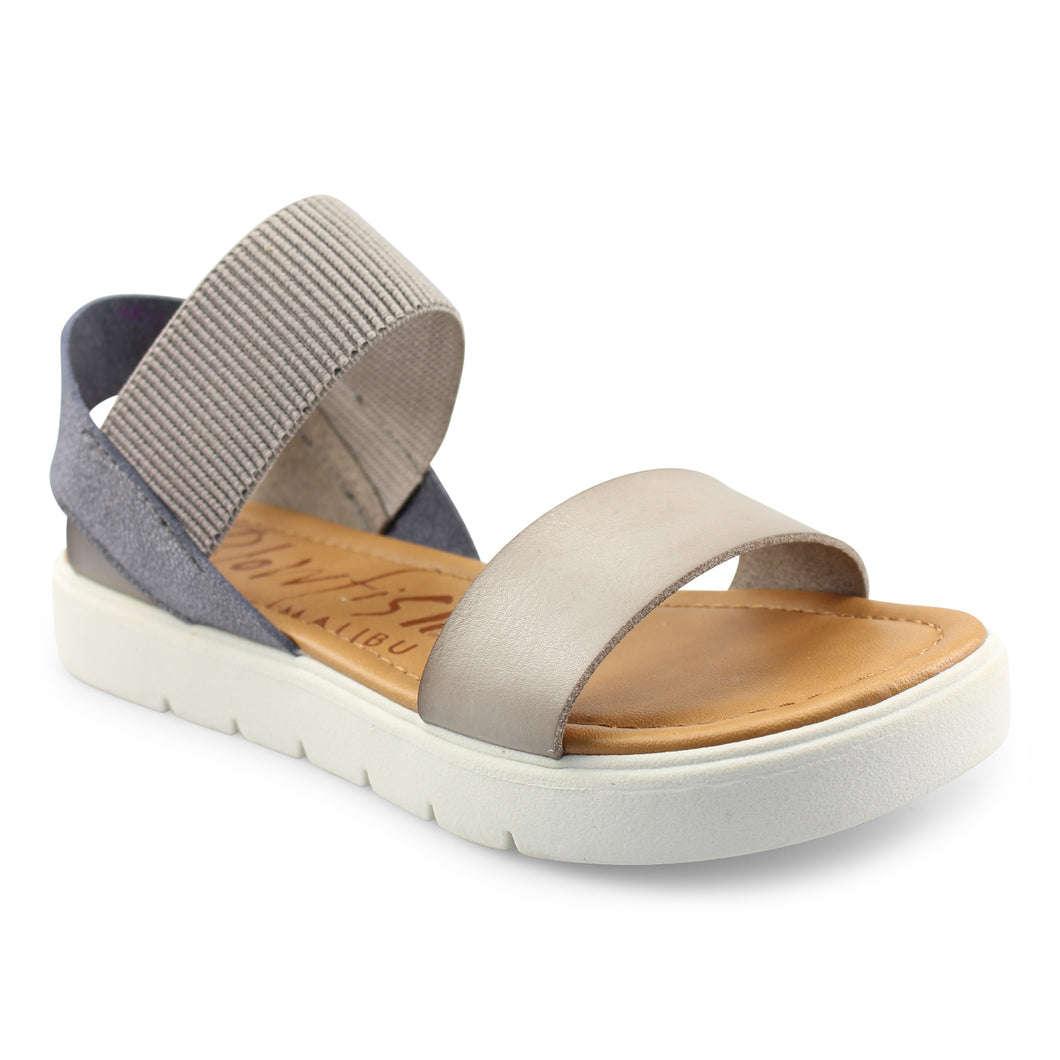 Blowfish Boss Sandal in Smoke