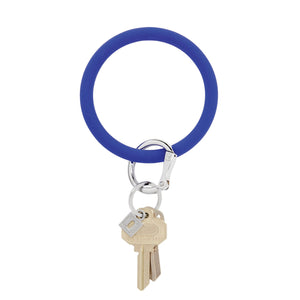 Blue Me Away Silicone Oventure Big O Key Ring