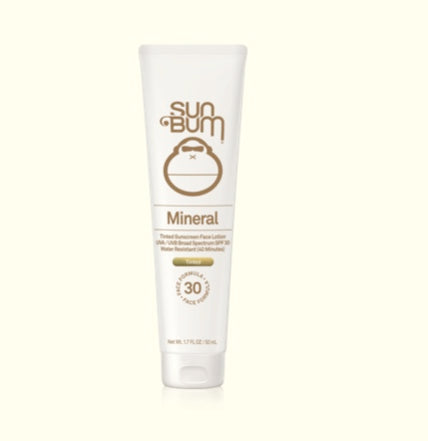 Sun Bum Mineral SPF 30 Tinted Sunscreen Face Lotion
