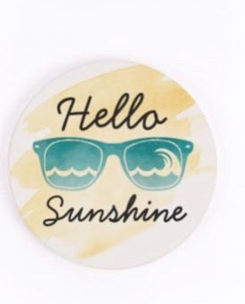 Hello Sunshine Car Coaster