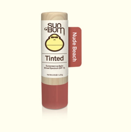 Sun Bum Nude Beach SPF 15 Tinted Lip balm