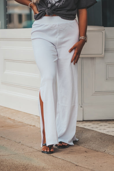 Z Supply Bondi Crinkle Pant in White