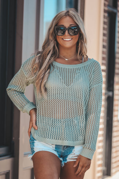 Summer Breeze Sweater in Two Colors