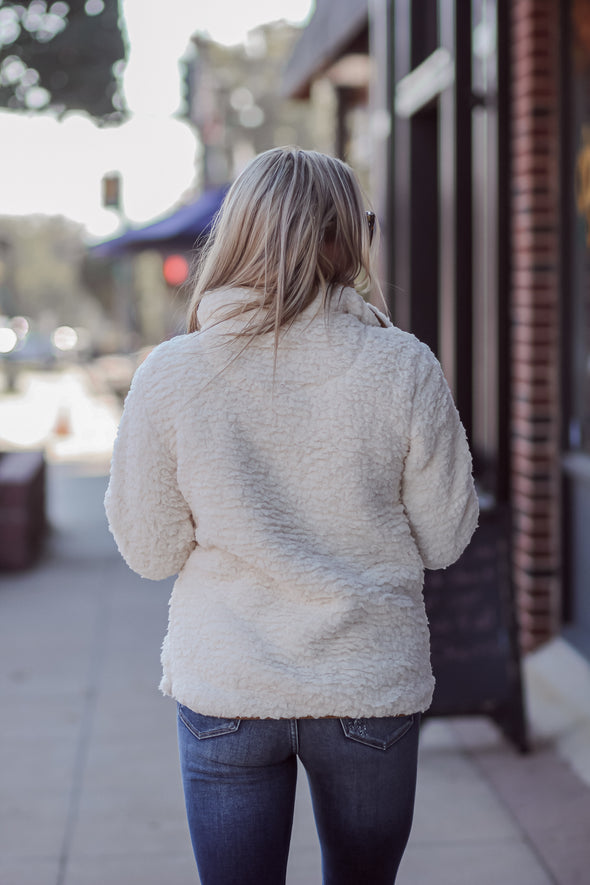 Thread and Supply Ivory Leopard Seven Wonders Pullover