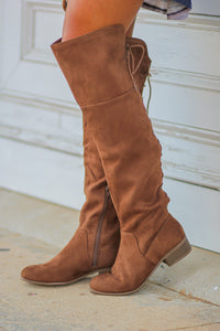 The Willa Boots in Chestnut