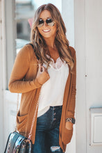 Solid Open Front Cardigan in Four Colors