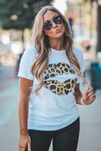 Leopard Lips Graphic Tee in Several Colors