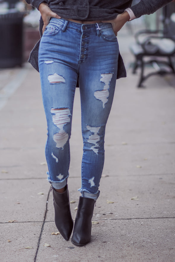 The Ivy Jeans in Regular and Curvy