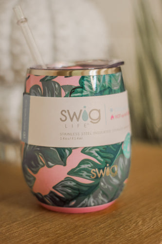 Swig Palm Springs 14oz Stemless Wine Cup
