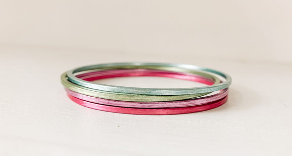 Sheila Fajl Colorful Collection Thin Flat Bangle