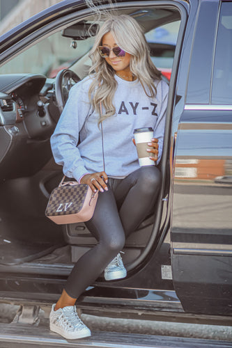 Lay-z Heather Grey Crewneck Sweatshirt